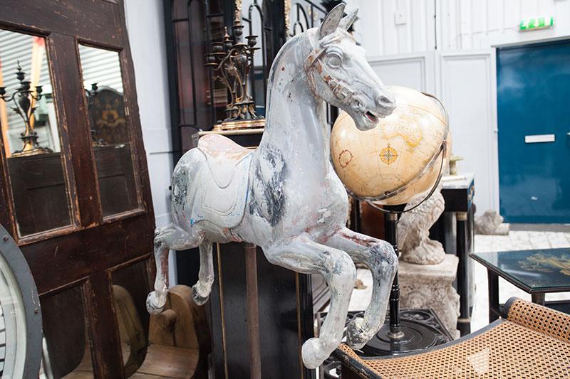 Restored Carousel Horse